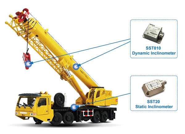 Vigor SST20 and SST810 Inclination Sensor Improve Security and Reliability of Cranes