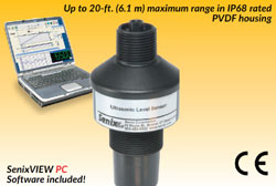 Senix ToughSonic®  CHEM 20 Level Sensor