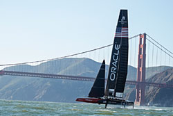Senix Ultrasonic Sensors Guide Oracle Boat to America's Cup Victory