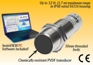 NEW !!  ToughSonic® 12 Level & Distance Sensor