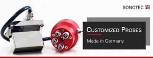 Customized transducers for ultrasonic NDT – Made in Germany