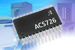 New Galvanically Isolated Current Sensor IC