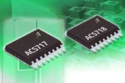 High-isolation linear current sensor IC with 850 micro-ohms current conductor