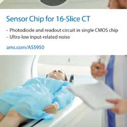 Innovative ams chip for X-ray detection heralds new era of lower-cost CT medical imaging