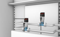 Rugged sensors for small-scale process technology