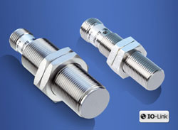 AlphaProx inductive distance sensors with IO-Link interface