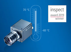 Baumer wins the inspect award 2019 with its CX.I cameras