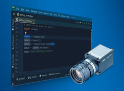 For faster and better programming and configuration – new software for efficient camera integration