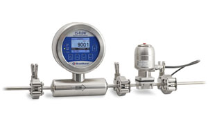 Flow meter/controller meets 3-A sanitary standards