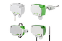 Modbus and BACnet Temperature Sensors for Building Automation
