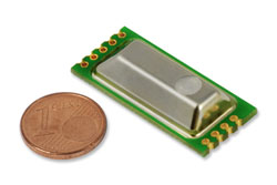 Miniature Sensor Module Measures CO2, Temperature and Pressure