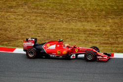 Monitoring tire temperature for racing performance with non-contact IR/TC sensors