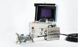 Robotic pipeline repair with the help of Exergen's micro IRt/c Sensors