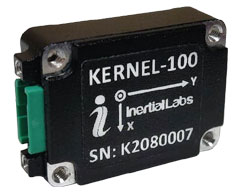 The Inertial Labs Kernel-100 Measures Linear Accelerations and Angular Rates with Low Noise and Very Good Repeatability