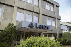 Leuze electronic with its own sales company in Germany