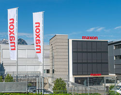 maxon revenues exceed CHF 500 million for the first time