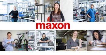 maxon celebrates International Women in Engineering Day