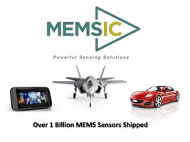 MEMSIC Announces 1 Billion MEMS Sensors Shipped