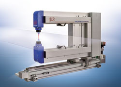 New thickness measurement system based on confocal sensors