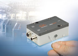 Powerful eddy current measuring system for small measuring ranges