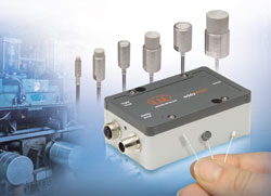 Inductive eddyNCDT 3060 displacement measuring system now offers even more application possibilities