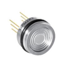 Pressure sensors for corrosive media