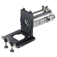 IR camera with rugged accessory for glass industry