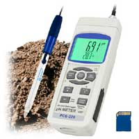 pH meter model PCE-228 now available with lots of additional probes