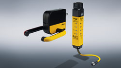 PSENmlock handle module expands the modular safety gate system from Pilz - Gates safely in hand