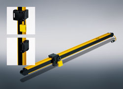PSENopt light curtain portfolio from Pilz prevents an unintended restart - Managing lockout efficiently and safely