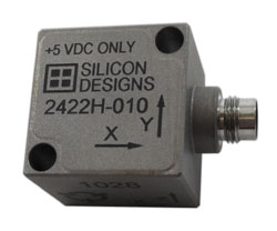 Low Voltage +5 VDC Specialty Hermetic MEMS Variable Capacitive Accelerometers