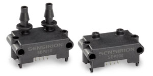 Additional I2C Address Available for Sensirion's SDP800 Differential Pressure Sensors