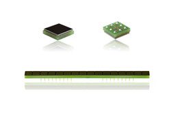 Ultra-flat chip-scale package photodiodes for scanner systems