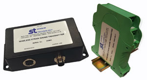 Transmitter makes any strain gauge wireless