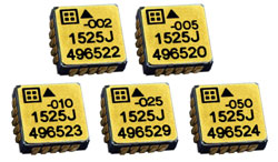 Silicon Designs Introduces Inertial-Grade MEMS Capacitive Accelerometers  with Internal Temperature Sensor and Improved Low-Noise Performance