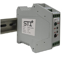 New DIN-Rail Amplifier for use with LVDTs
