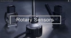 New video from Novotechnik: Rotary position sensors for mobile machinery