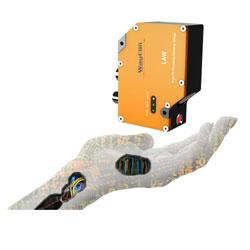 Laser distance sensor LAW - Easy handling of high  precision