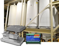 Zemic load cells, weighing modules and electronics used for silo weighing