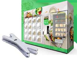 Smart vending solution Zuply equipped with Zemic Object identification System