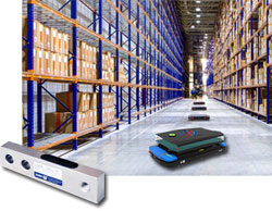 Zemic weighing sensors integrated into Autonomous Mobile Robots